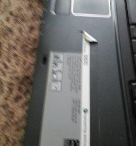 Ноутбук acer extensa 5620 в рабочем состоянии
