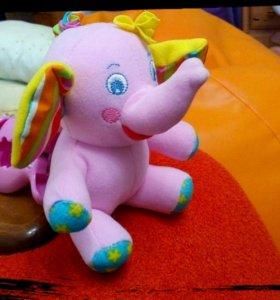 Развивающая игрушка/подвеска Tiny Love Слонёнок