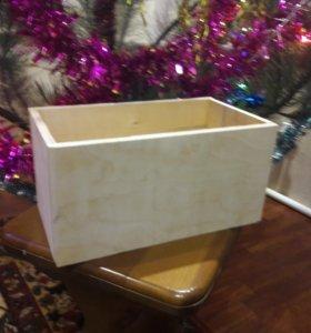 Коробка деревянная для хранения всего