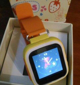 Умные часы модель Q80 с gps и sim