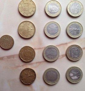 Монеты Евросоюза