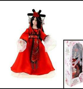 Коллекционная кукла, керамика