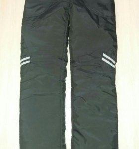 Тёплые штаны на синтепоне, 42