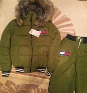 Тёплые зимние костюмы