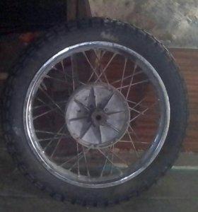 Задние колесо от юпитера 6