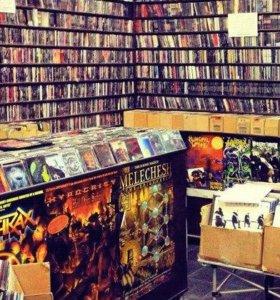 ДИСТРО (500 лицензионных CD) metal-групп