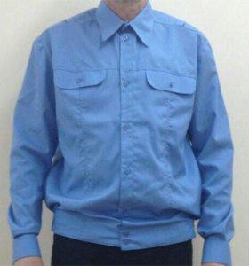 Рубашка голубая 3шт