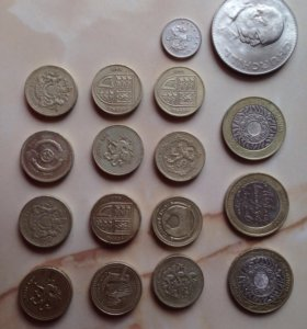 Английские фунты