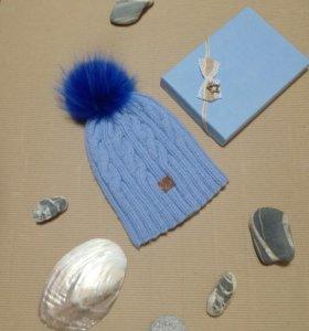 Зимняя шапочка 55-57