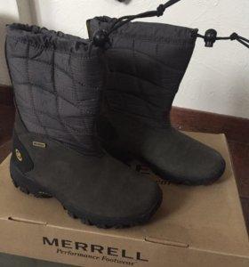 Продам демисезонные сапоги MERRELL