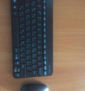 Без проводная клавиатура с мышью