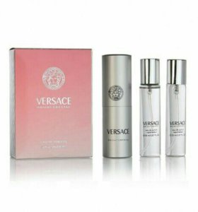 Набор парфюма Versace Bright Crystal 3x20 ml