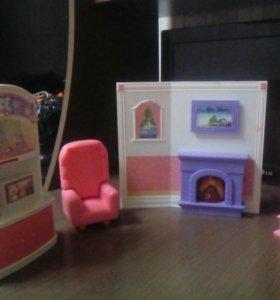 Набор мебели для кукол.