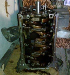 Двигатель блок с поршневой