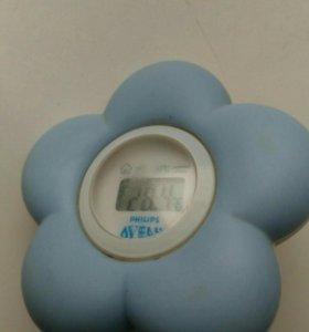 Avent термометр для воды ромашка