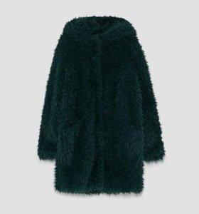 Новое демисезонное пальто Zara р. М