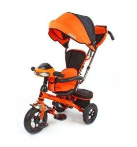Детский трехколесный велосипед - коляска