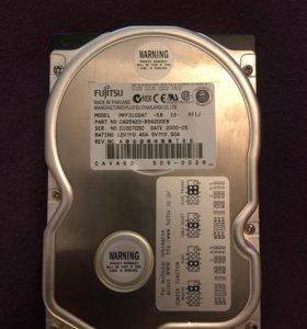 "Жесткий диск Fujitsu MPF 3102AT 10Gb, IDE/3. 5"""