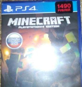 Minecraft игра для приставки PS-4