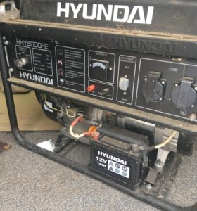 Генератор бензиновый Hyundai HHY5000FE