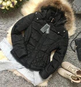 Hanny Deep Италия пуховик куртка S/M