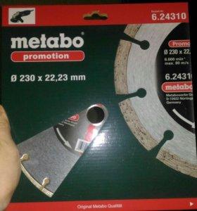 Алмазный круг универсальный Metabo 230x22,23мм
