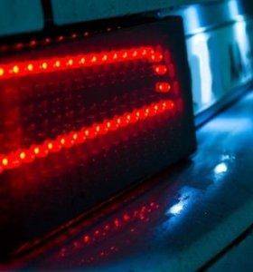 Задние фонари ВАЗ 2108 в стиле Q5