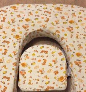 Подушка для кормления двойни MilkRivers Twins