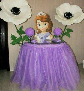 Стол-принцесса на день рождение