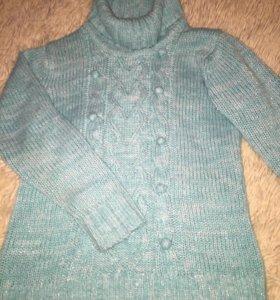 Джемпер(свитер)на девочку 6-8 лет