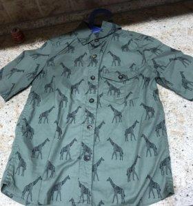 Рубашка на мальчика новая,модная стильная