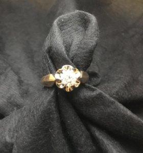Кольцо с бриллиантом 0,54 ct