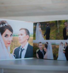 Красивые фотокниги. Свадебные, семейные, детские