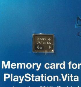 Карта памяти 8gb для PlayStation Vita