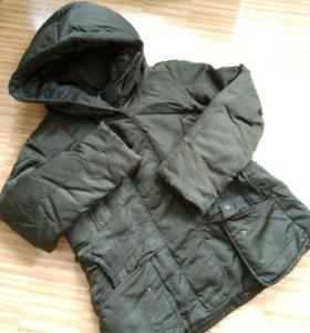 Куртка пуховик женский 48-50