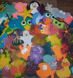 Мини коврики для купания малыша