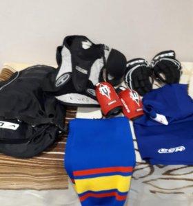 Хоккейная экипировка( от 6лет до 8 лет)
