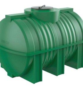ёмкости и баки для воды пластиковые