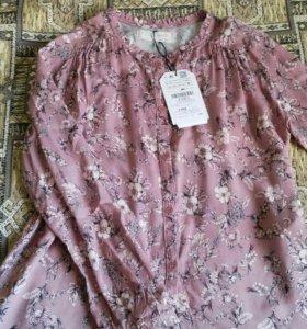 Zara(Зара) блузка, 9-10/140