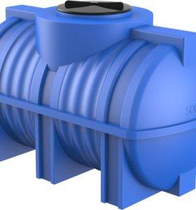 резервуар для воды или топлива пластиковый