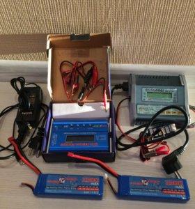 Комплект зарядников и 3S акумов