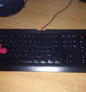 Игровая клавиатура bloody q100