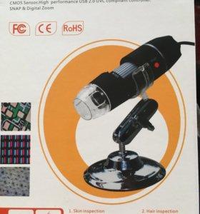 Микроскоп цифровой новый. Модель 500X