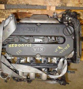Двигатель S6D / S5D Kia Spectra 1.6л 101л.с.