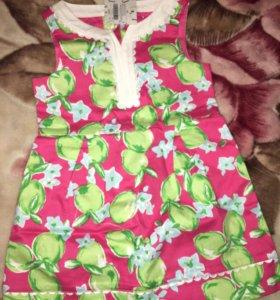 Платье Джени и джек размер 2т