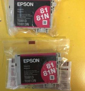 Картриджи для принтера Epson T0813