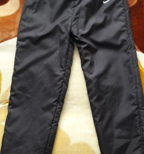 новые болоневые теплые штаны