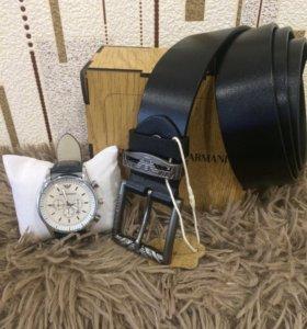 Продам набор Часы+ ремень