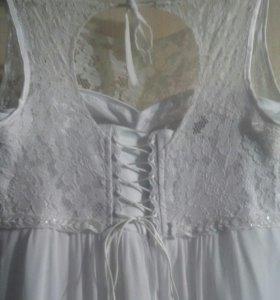 Свадебное платье (большой размер)