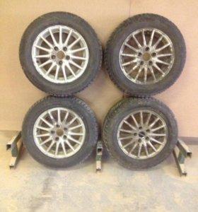 Комплект зимних колёс для SX4